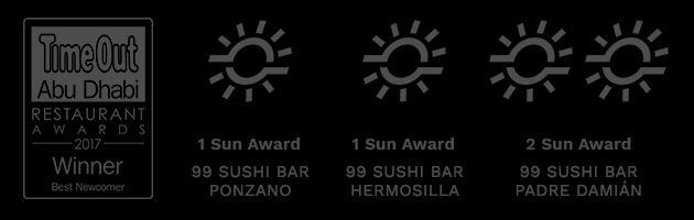 REPSOL SUN AWARDS 99 SUSHI BAR